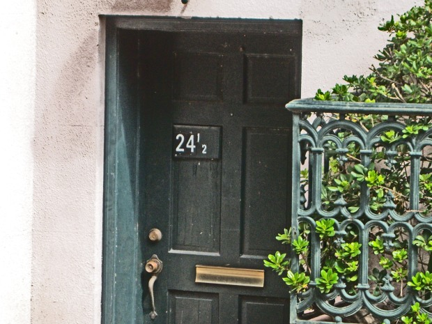 Door in Savannah, GA