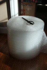 and lots of bubble wrap